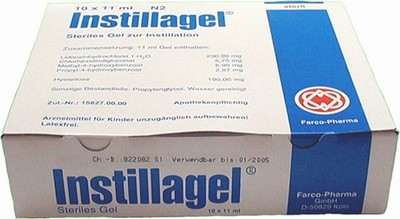 Instillagel Spuiten 10 per doos, 11 ml.