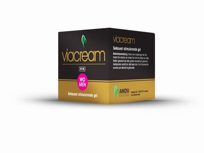 Viacream Stimulatiecréme voor Vrouwen