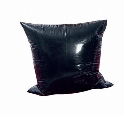 Wasbaar Orgy polyurethaan Kussensloop zwart.