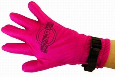 Fukuoku Massage Handschoen roze (Super Tip !)