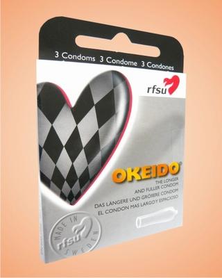 Condooms, Grande Okeido, 3 stuks