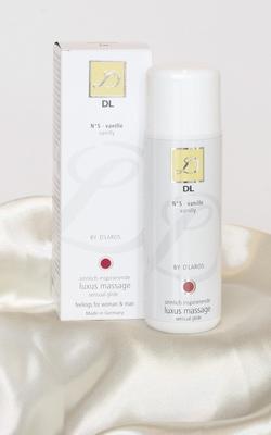 D'Laros N°5 Luxe Massage bodyglide, Vanille