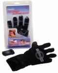 Fukuoku Massage Handschoen zwart (Super Tip !)
